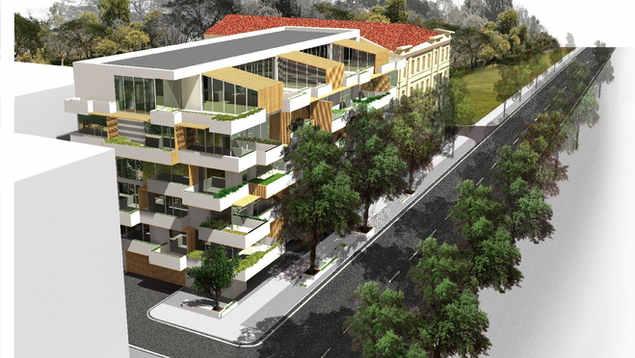 POEMA MIŠKAS | Daugiabutis gyvenamasis namas M.K.Čiurlionio gatvėje