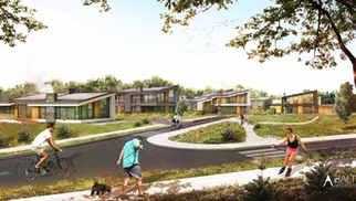 ATEITIES GYVENVIETĖ | Namai ateities bendruomenei Kauno rajone