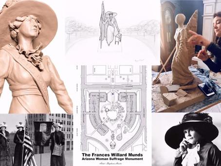 Local Artist chosen as the Sculptor for the Francis Willard Munds Statue