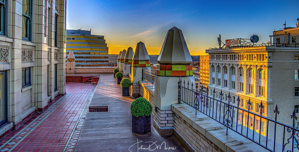 Rooftop Looking West_John D Moore Spokan