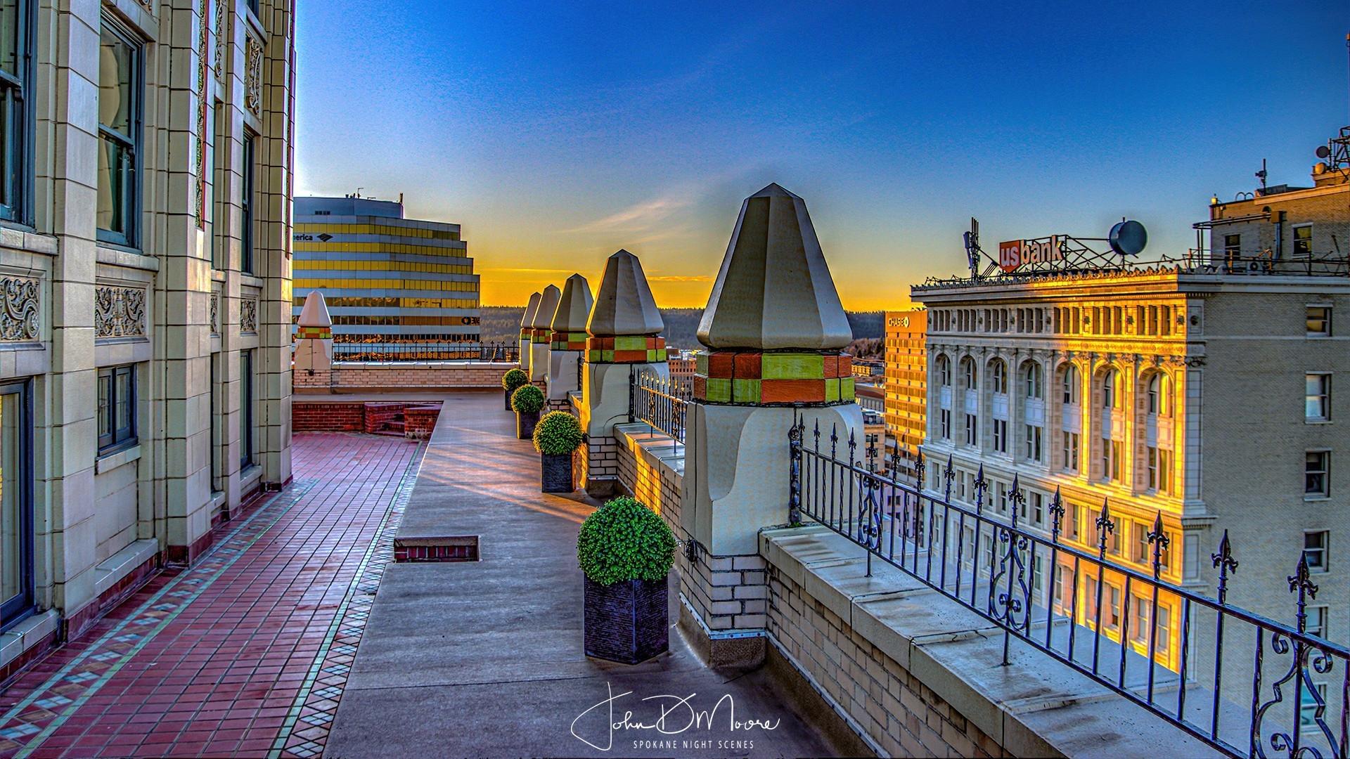 Rooftop Looking West_John D Moore Spokan