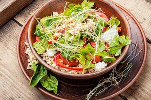 Reen Buckwheat Vegetable Salad With Cele