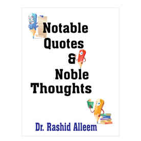 Notable Quotes & Noble Thoughts