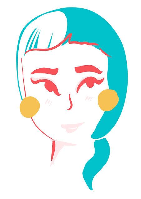 Smiling Girl with Yellow Earings.jpg