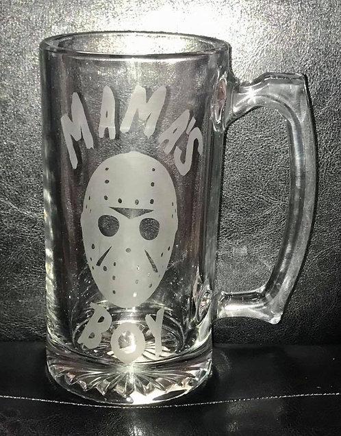Mama's Boy Beer Mug