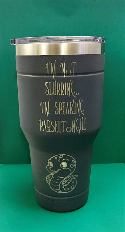 Speaking Parseltongue Tumbler