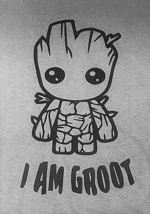 I Am Groot (Black) T-shirt