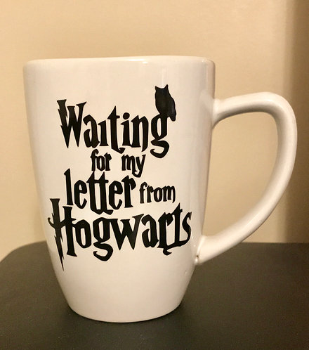 Letter from Hogwarts Coffee Cup