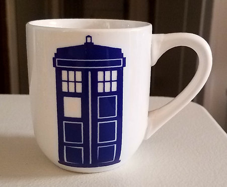 Doctor Who Tardis Coffee Cup