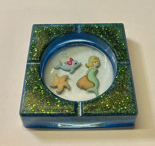 Ocean Themed Trinket Dish or Ashtray