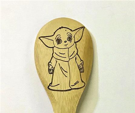 Baby Yoda Spoon