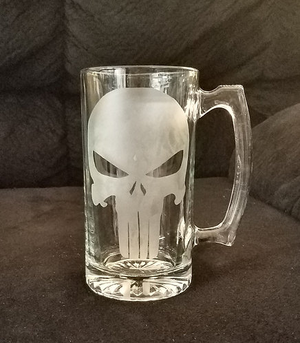The Punisher Beer Mug