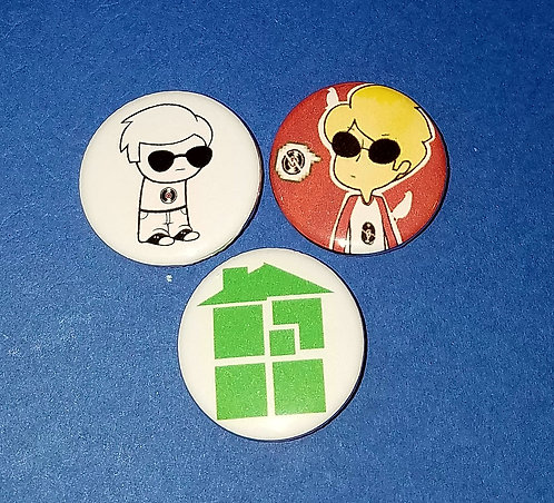 3 pc Homestuck: Dave Strider