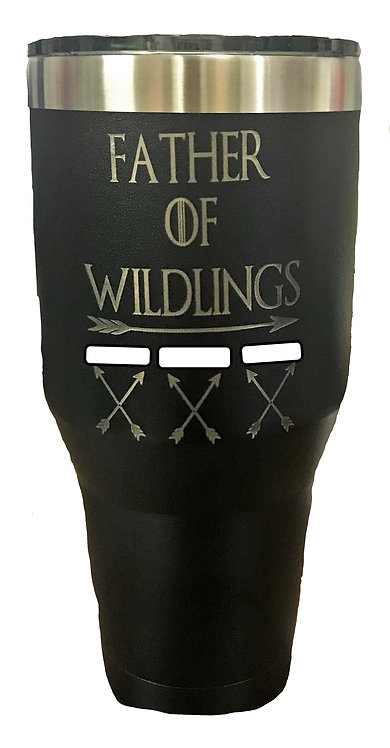 Father of Wildlings Tumbler