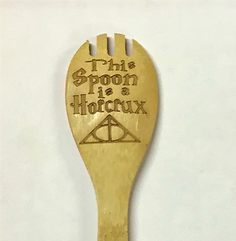 This Spoon is a Horcrux Forked Spoon