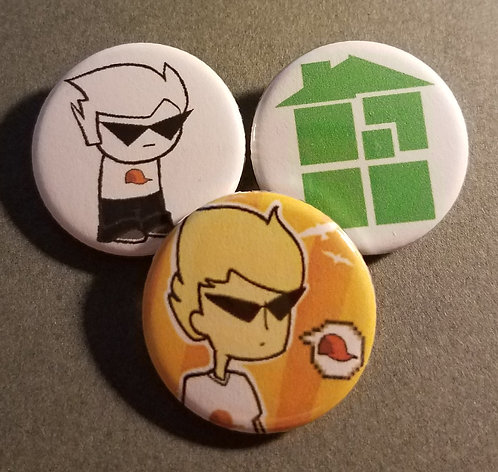 3 pc Homestuck: Dirk Strider
