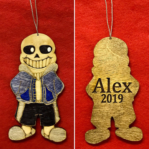 Sans from Undertale Ornament