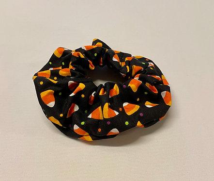 Halloween Candy Corn Hair Scrunchie