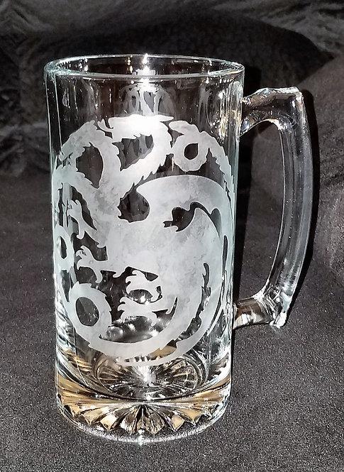 House Targaryen Beer Mug