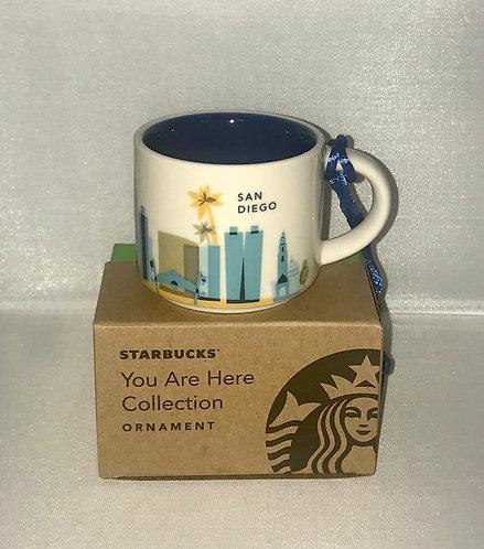 San Diego espresso cup & ornament