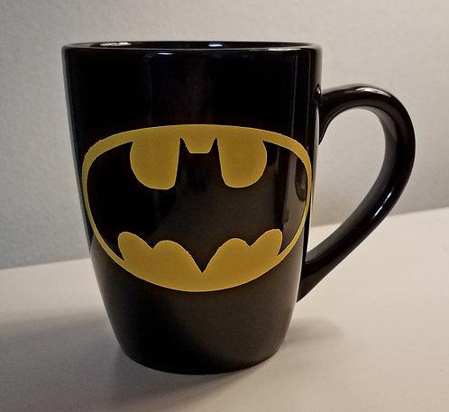 Batman Outline Coffee Cup