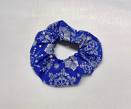 Snowflake Hair Scrunchie