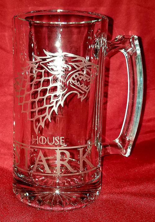 House Stark Beer Mug