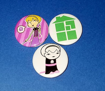 3 pc Homestuck: Rose Lalonde