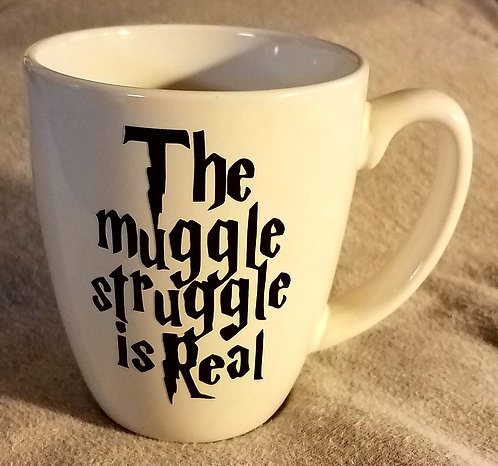 Muggle Struggle Coffee Cup