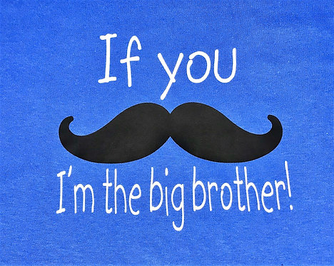 I'm the big brother T-shirt