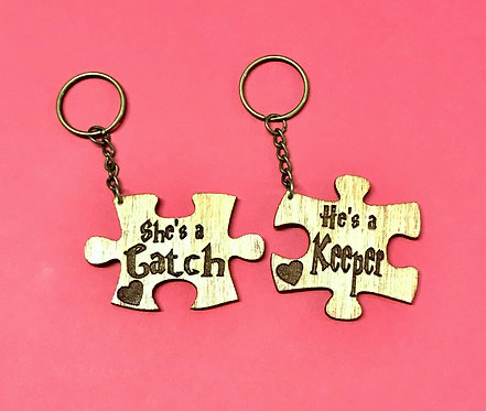 Catch & Keeper key chains