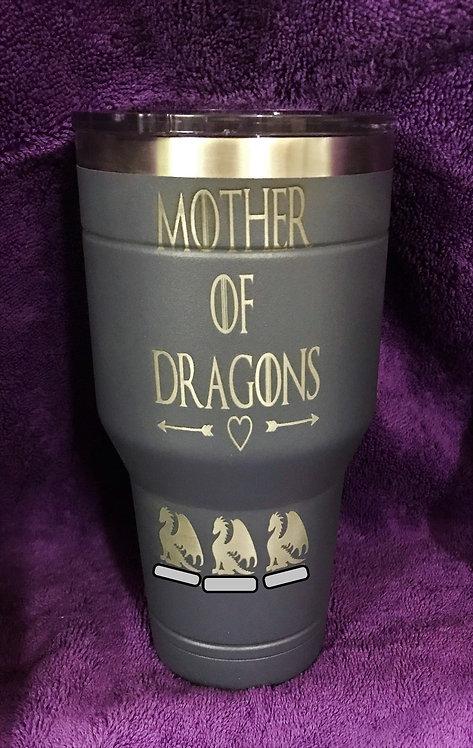 Mother of Dragons Tumbler