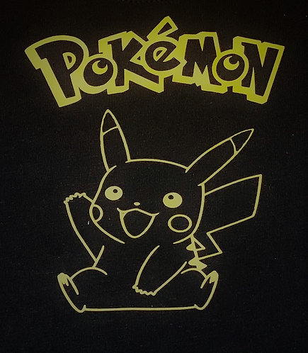 Pikachu from Pokemon T-shirt