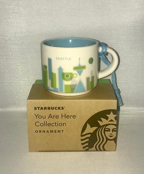 Seattle espresso cup & ornament
