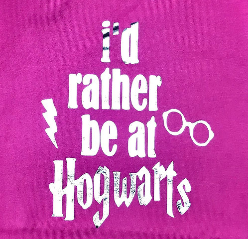 I'd rather be at Hogwarts T-shirt