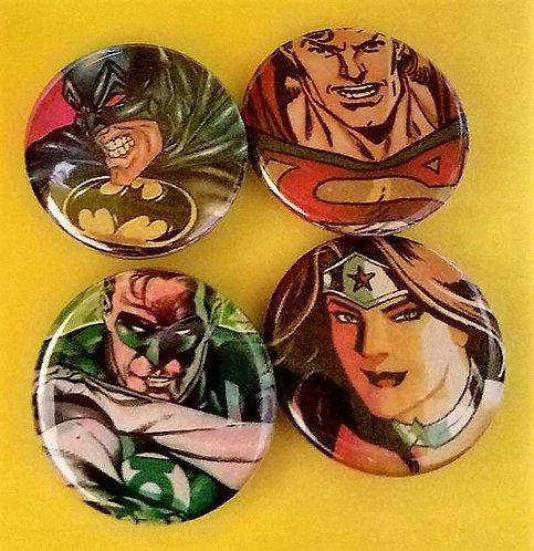 4 pc DC Comics
