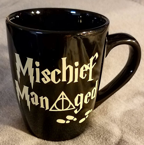 Mischief Managed Coffee Cup