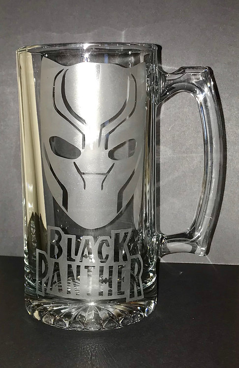 Black Panther Beer Mug