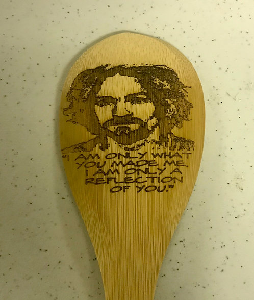 Serial Killer: Charles Manson Spoon