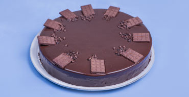 שוקולד בלגי קוטר 26