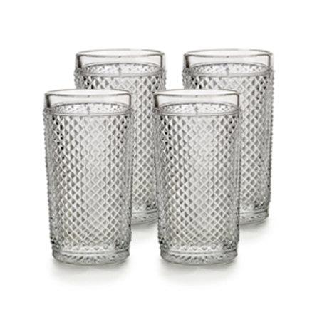 Picos 4 Vasos Altos Transparentes