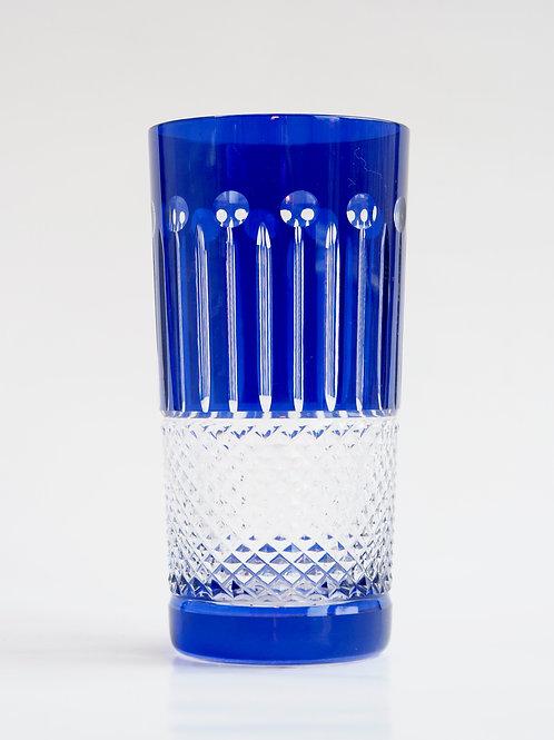 COLORES 6 Vasos Altos azul 300ml