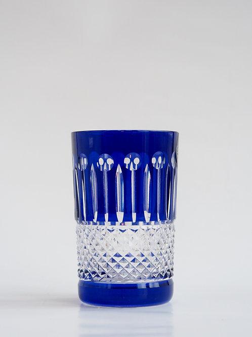 COLORES 6 Vasos Bajos azul 150ml