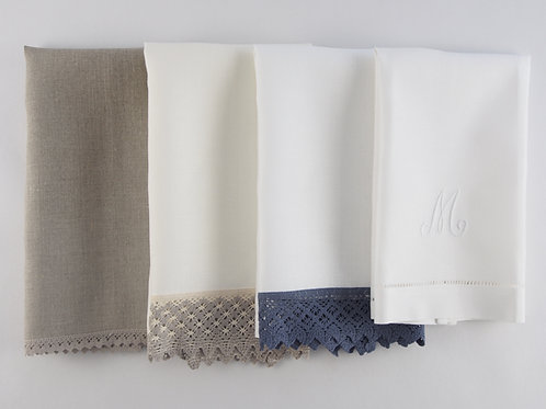 Set de 4 toallas de lino