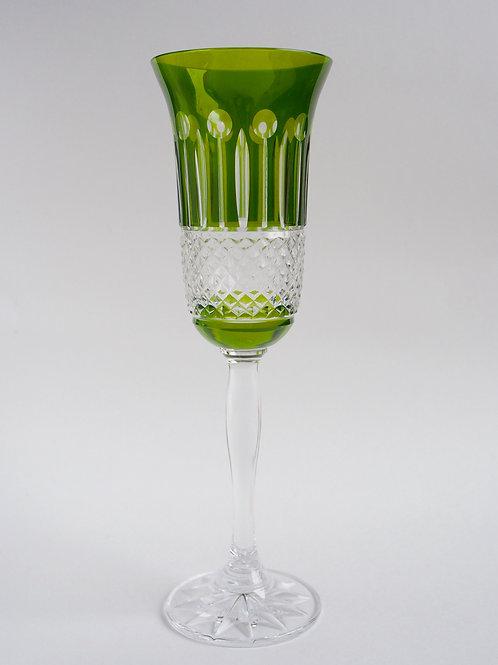 COLORES 6 Copas champán verde 150ml