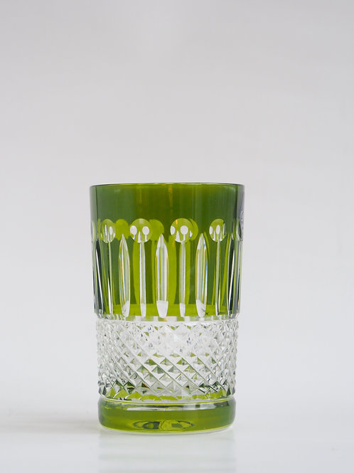 COLORES 6 Vasos Bajos verde 150ml