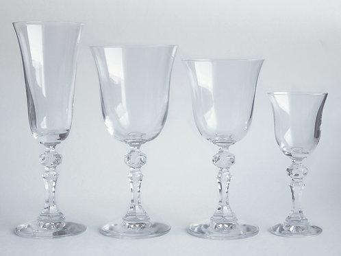 Cristalería clásica 36 piezas