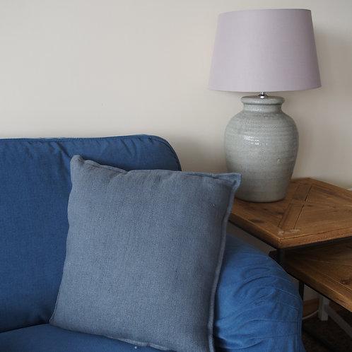 Almohadón Azul Grisáceo Soft