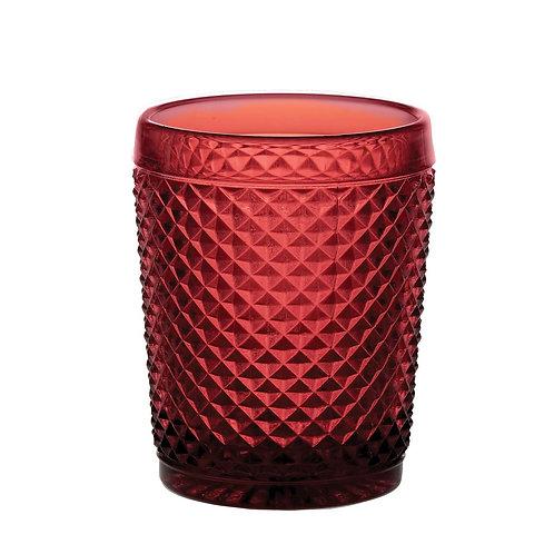 Picos 4 Vasos Bajos Rojos