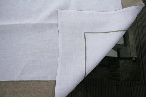 Mantel Blanco Reversible